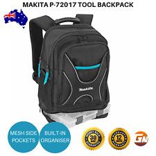 Makita P-72017 Tool Backpack Professional Organiser Rucksack Jobsite Tote Bag