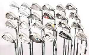 Lot of 24 Golf Single Irons Wilson Titleist Ping Mizuno Armour Maxfli Hogan RH
