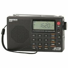 PLL FM, AM, SW, LW AIR bands World Band Features Packed Alarm 500 Radio Stations