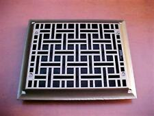 Antique Ornate Cast Iron Heating Grate Register Vent Floor Wall 1885,1886