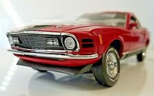 New Listing#70 Of 500 Franklin Mint 1:24 1970 Ford Mustang 428 Mach 1 Red w/ Coa S11E682 I