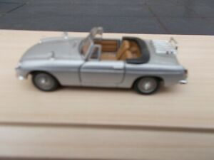 HONGWELL 1960'S/1970'S MGB CABRIOLET IN SILVER-USED/UNBOXED