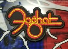 EMBROIDERED FOGHAT ROCK BAND CONTOUR PATCH