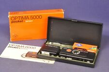 Agfa Optima 6000 Pocket sensor & Solinar S 2,7 / 27mm OVP CIB Sammler Collectors