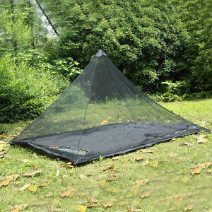 Portable Camping Mosquito Insect Net Netting Cover Canopy Travel Sleeping Tent