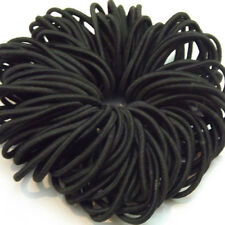 100X Elastic Rope Hair Ties Ponytail Holder Head Band Hairbands black