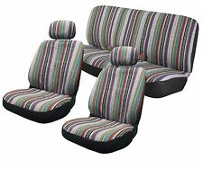 Baja Inca Saddle Blanket Seat Covers Front Bench Set CS3