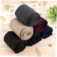 New Womens Warm Fleece Thick Tights Skinny Stretch Footless Clothing Pants Free