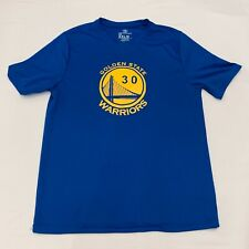 Golden State Warriors Stephen Curry Blue T-Shirt Boys XXL 2XL 18