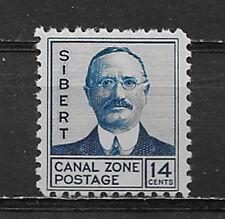 CANAL ZONE , US , 1928/40 , MAJ. GEN. SIBERT ,14c  STAMP , PERF , VLH