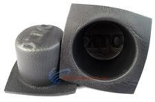 "6"" Round Large Frame Foam Car Speaker Baffles 1 PAIR 6 Inch VXT60 Install B"