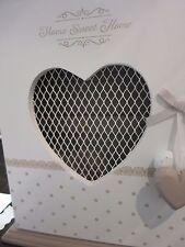 supports muraux Boite à clés Home Sweet TULIPS JOLIES TULIPES Home cœur blanc