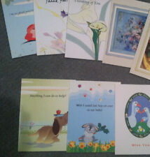 Lot of 28 New Mixed assorted Greeting cards with Envelopes