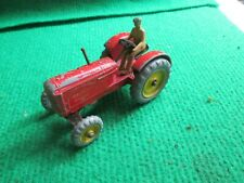 DINKY TOYS MASSEY HARRIS TRACTOR WITH DRIVER LOT X53