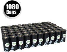 PET N PET Dog Poop Bags Pick up Pet Waste Bags Black Color Poop bags 1080 Bags