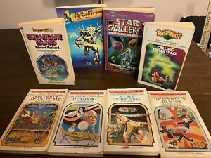 LOT of 4 Choose Your Own Adventure Books & 4 CYOA Style Books Vintage