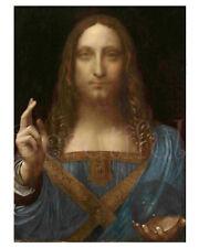 Salvator Mundi/Jesus Christ/Art Print/Poster/Leonardo Da Vinci - 16x20
