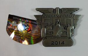2014 Indianapolis 500 Pit Badge Belt Buckle Limited Edition Ryan Hunter-Reay