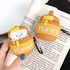 3D Cartoon Honey Bottle Silicone Case Protective Cover For Apple AirPod 2 & 1 uk