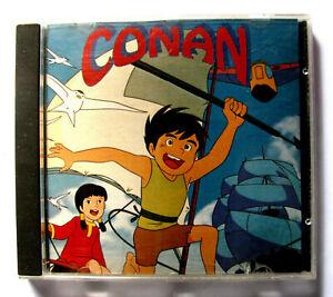SUPER CD ROM GIAPPONESE CONAN THE BOY IN FUTURE 1992 OTTIME CONDIZIONI