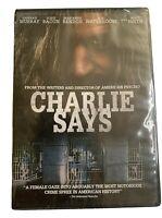 CHARLIE SAYS (DVD, 2019) Brand New