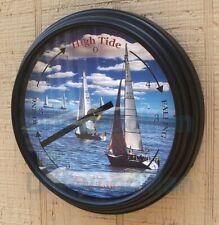 Tide Clock - Atlantic Coast Tidal Clock - Sailboats
