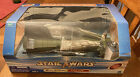 Star Wars 2002 SAGA TARGET EXCLUSIVE A-WING FIGHTER GREEN LEADER NEW SEALED ROTJ