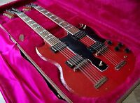 TPP Jimmy Page EDS 1275 Relic Tribute - Gibson USA Double Neck SG Seymour Duncan