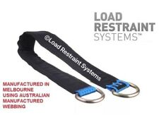 4 Pack 450mm Car Trailer Axle Strap,  Car Carrying, Centre Strap, Tilt Tray