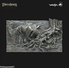 Lord Of Das Rings Escape Road Wall-Plaque Resin Weta Sideshow