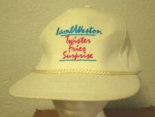 LAMB WESTON baseball hat Twister Fries Surprise cap 1980s potato Idaho dayglo