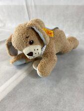 Steiff Gute Nacht Hund 48cm 239724 blau für Baby B Ware