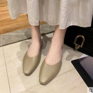 Women Flat Casual Shoes Outdoor Slippers Slip On Mules Slides Summer Sandals