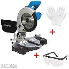 Kappsäge 1400 W Heimwerker Kreissäge Gehrungssäge + Schutzbrille + Handschuhe