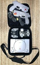 Sony Playstation One PS1 Console - Two Hand ControlLers & Two NAMCO Light Guns