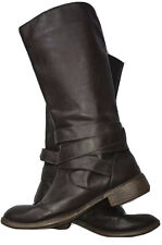 Womens Tall Brown Boots K9 By Rocket Dog Sz 7M Buckle