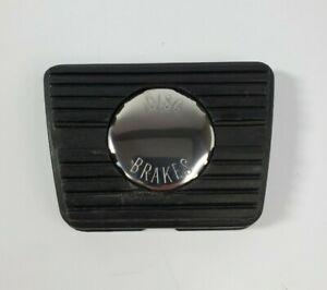 Manual Brake Pedal Pad w/ Disc Brake Emblem for GM Cars