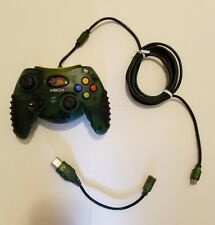 Mad Catz #4526 Transparent Green Xbox Control Controller w/Breakaway for Parts