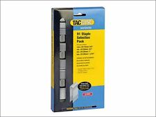 Tacwise - 91 Narrow Crown Divergent Point Staples Selection -Electric Tackers