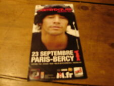 JAMIROQUAI PARIS BERCY!!!!!!!!!!!!!!!!RARE FRENCH FLYER
