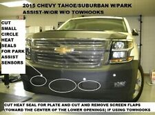 Lebra Front End Mask Bra Fits 2015-2020 Chevy Suburban & Tahoe with Park Assist