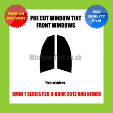 BMW 1 SERIES F20 3-DOOR 2012+ FRONT PRE CUT WINDOW TINT KIT
