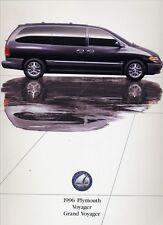 1996 Plymouth Grand Voyager Van Large Size 46-page Original Car Sales Brochure
