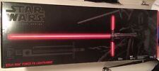 KYLO REN Deluxe Force FX LIght Saber Star Wars Black Series Force Awakens NEW