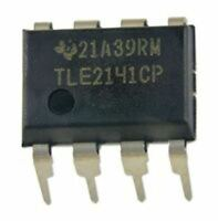 5PCS Texas Instruments TLE2141CP TLE2141 Low Noise High-Speed Op Amp New IC