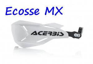 New Acerbis X-Factory Enduro Wrap Around Handguards White/Black EXC300 EXC250