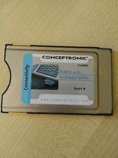 Conceptronic PC Adapter Karte PCMCIA Laptop Modul / Cardreader / Kartenleser 10
