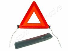 SAAB 9-3 9-5 9000 EMERGENGY REFLECTIVE TRIANGLE WITH CASE trunk road reflector