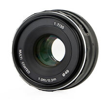 Meike 35mm f1.7 objetivamente multicoated para fujifim X-Mount