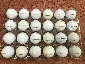24 - TAYLORMADE  Assorted Models MINT AAAAA  Played Golf Balls FREE SHIP Lot E